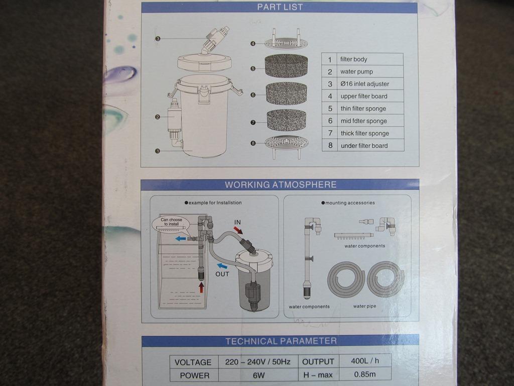 SunSun Hw-603B Dış Filtre İncelemesi - Resimli Anlatım (4)