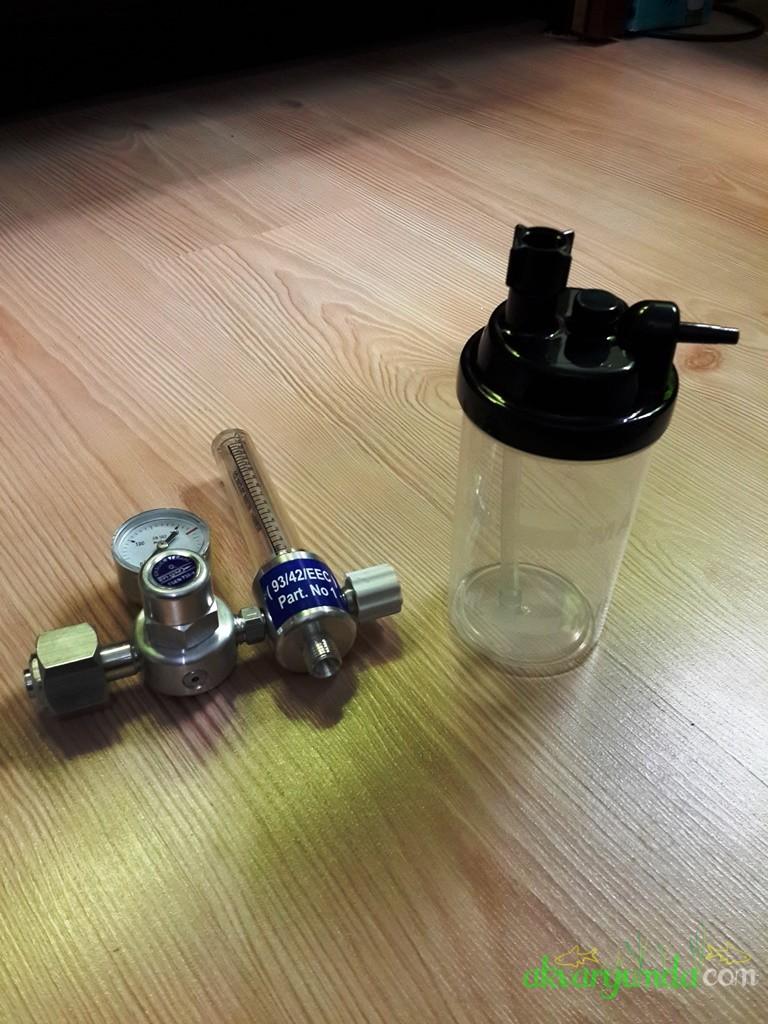 Oksijen Manometresi ile Co2 Tüp bağlantısı Yapımı 8